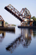 The Train Bridge near the Hiram Chittenden Government Locks