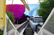 Seattle Center - Experience M;usic Project and Monorail